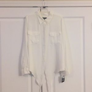 INC Blouse - NWT - off white color
